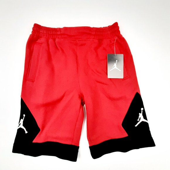 Embrione passione rubicondo  Jordan Bottoms | Air Boys Sweat Athletic Shorts Sz 6 Red Pol | Poshmark